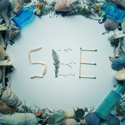 """""""See"""" from """"Words"""", an Instagram project; digital, 2015"""